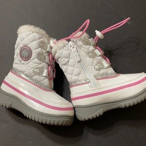 Totes Snow Boots Faux Fur Lined Sz 5 Toddler